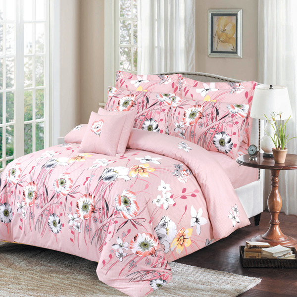 Kassino Genr Pink Bed Sheets And Comforters Bed Bath Living